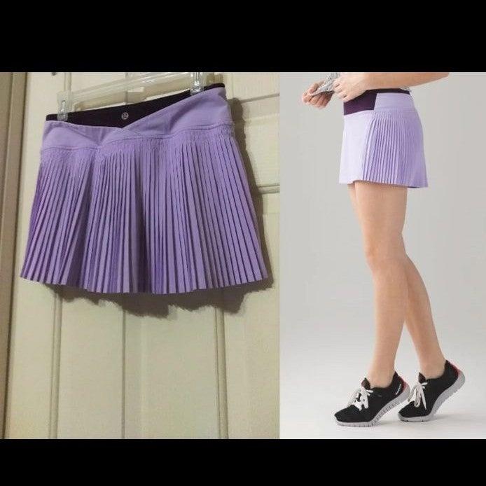 Nwot Lululemon Tennis Run Skort Skirt 4
