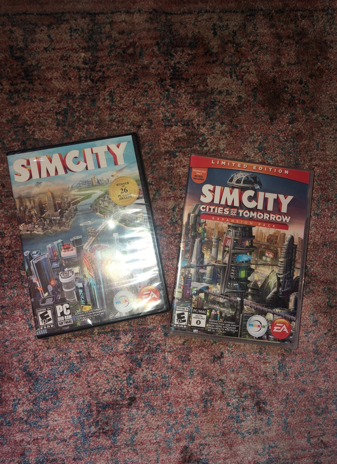 SimsCity And Simcity Cities Of Tomorrow