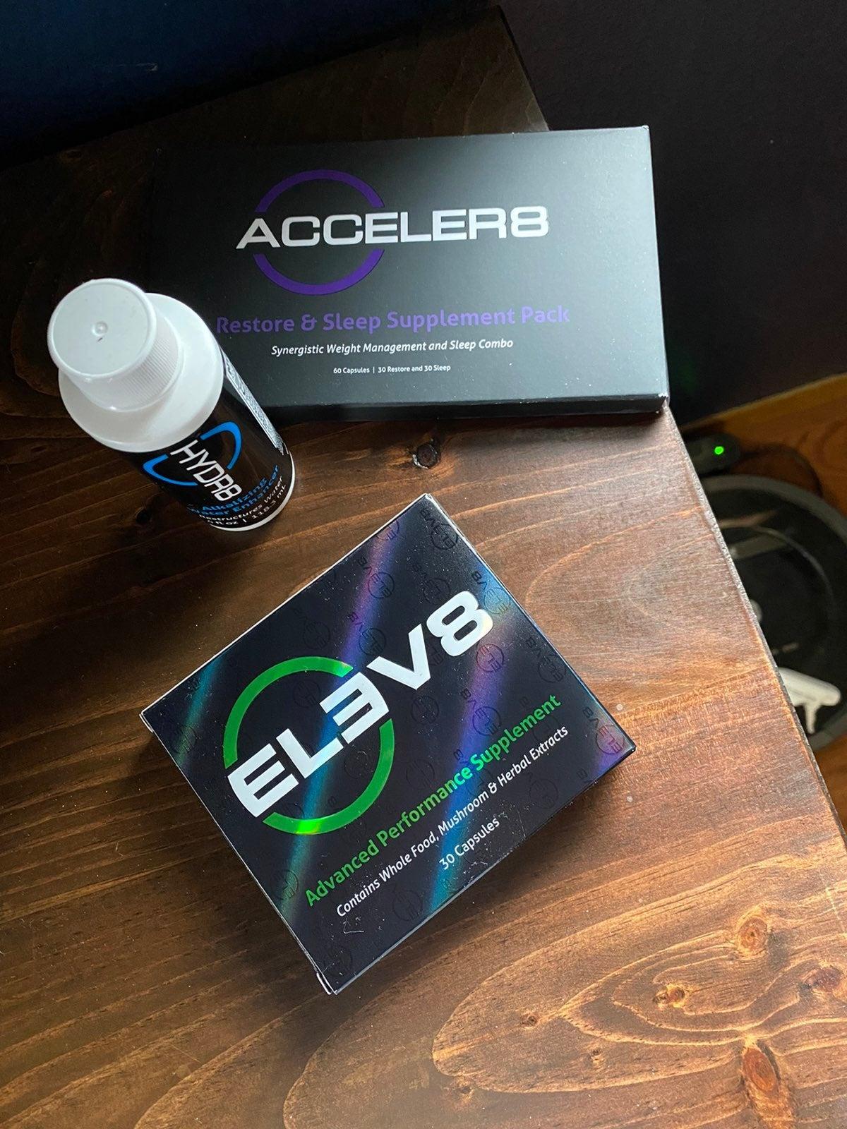 Bepic Bundle - Elev8, Acceler8 and Hydr8