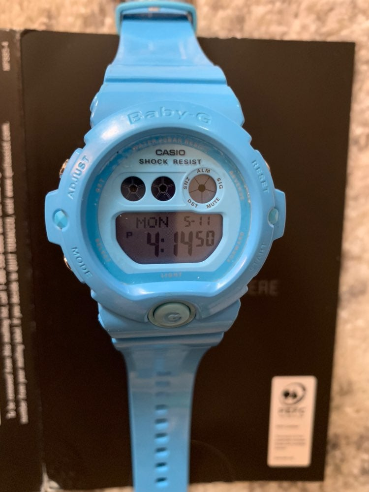 Baby G jelly Watch