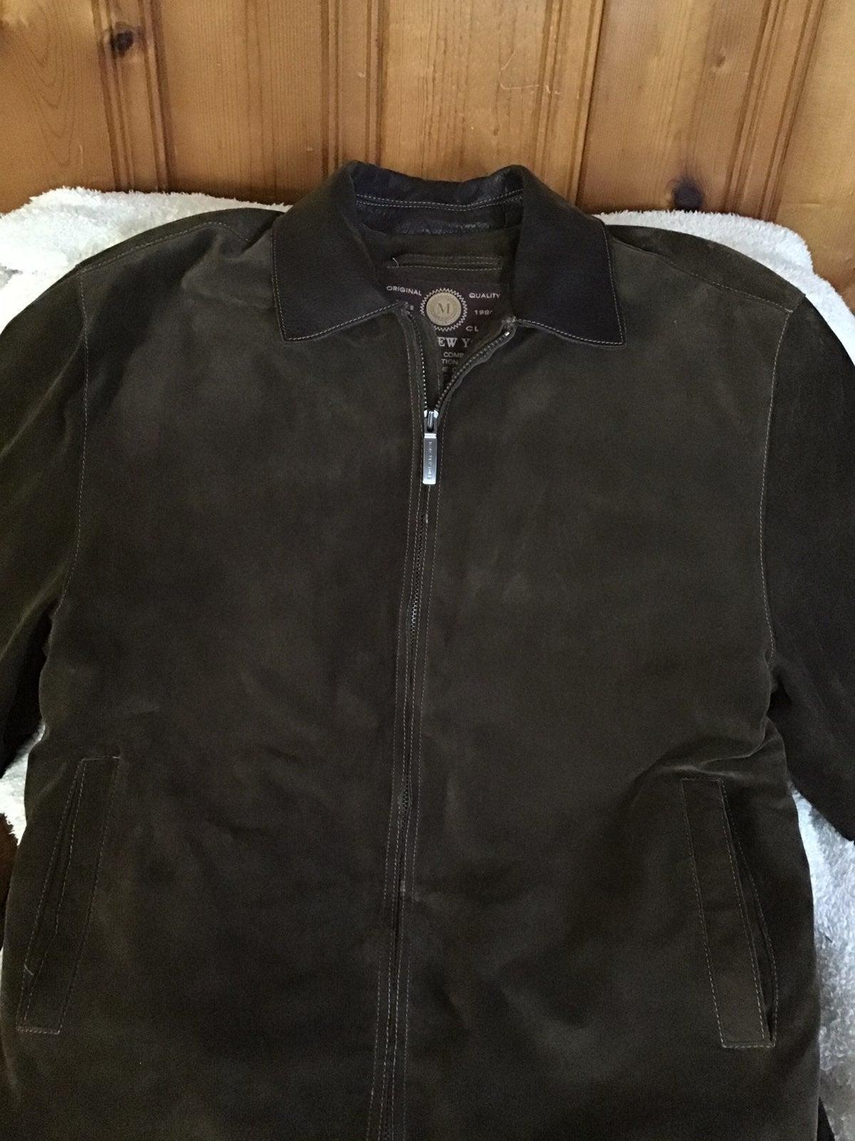 Vintage Anthony marc leathet coat
