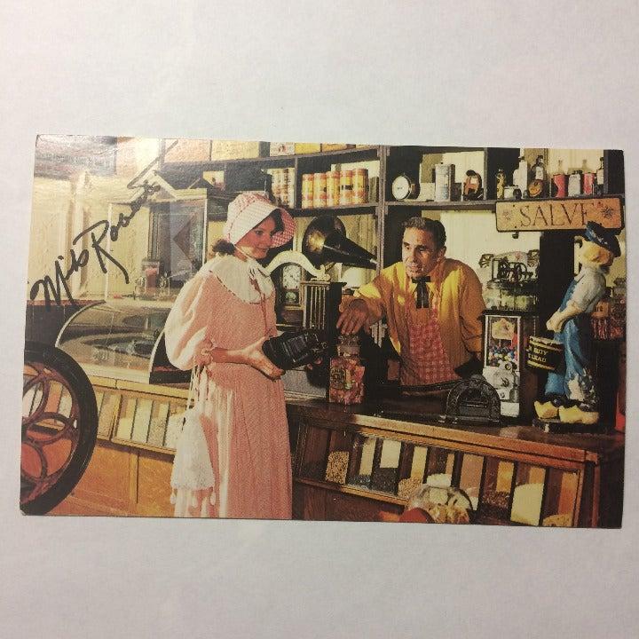 Mike Roberts Vtg Postcard Store Camera
