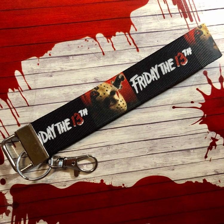 Friday the 13th Jason Key Ring Fob Keych