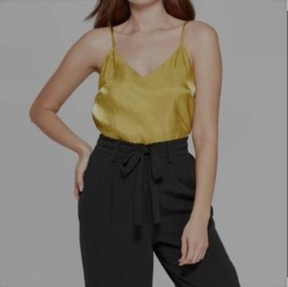 Mustard Yellow (gold tone) Camisole