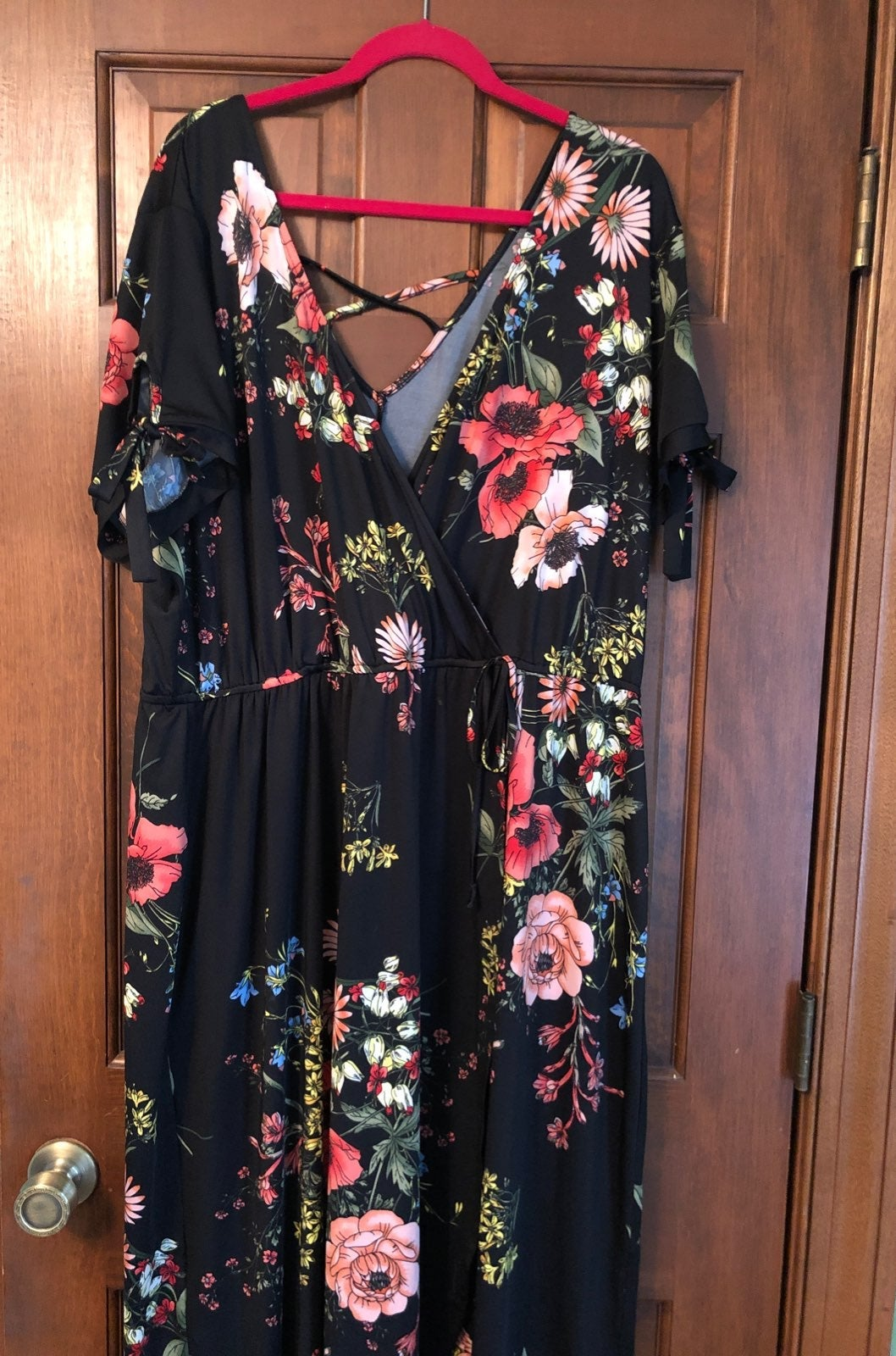 gorgeous maurices maxi dress sz 3
