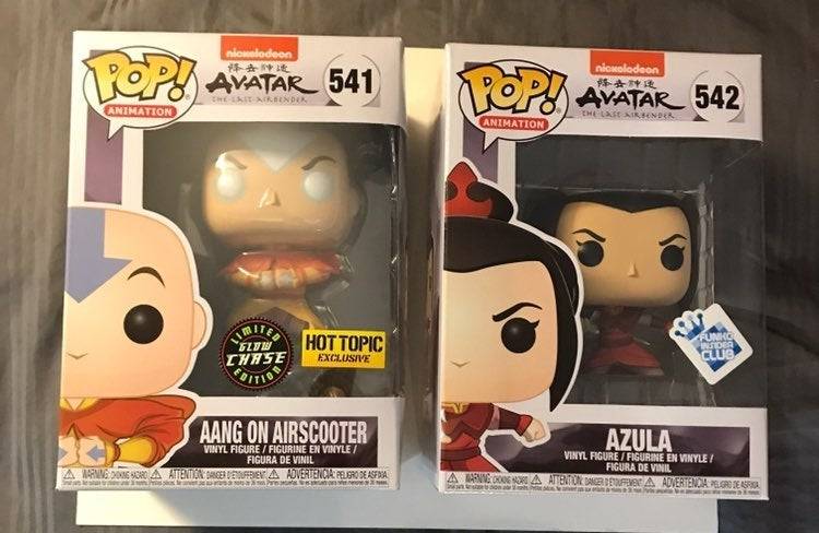 Aang Chase and Azula Funko Pop Bundle
