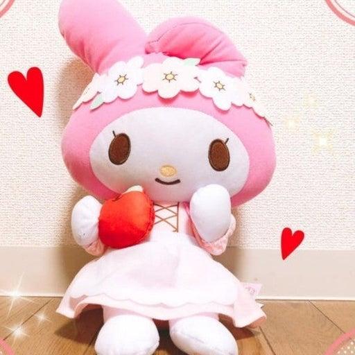"Big My Melody Fairytale Style plush 14"""