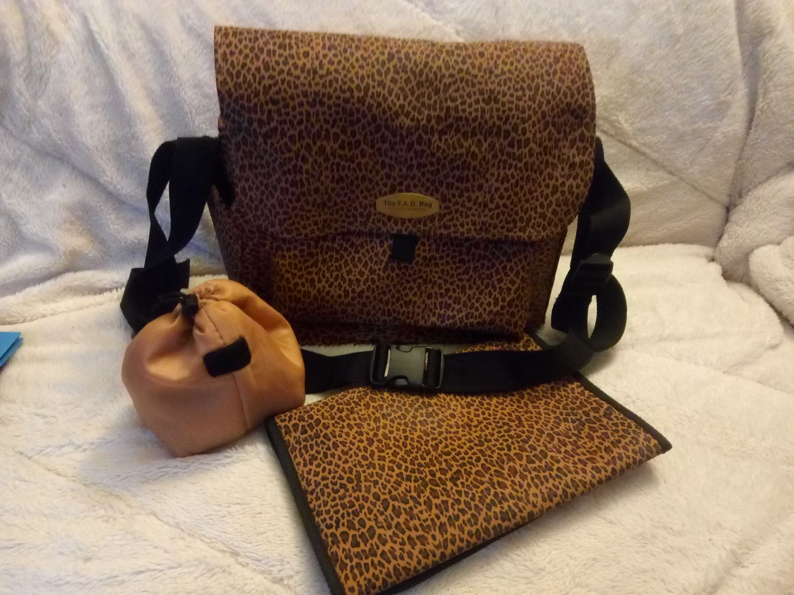 The F.A.D. Bag by Love Me & Mommy Diaper