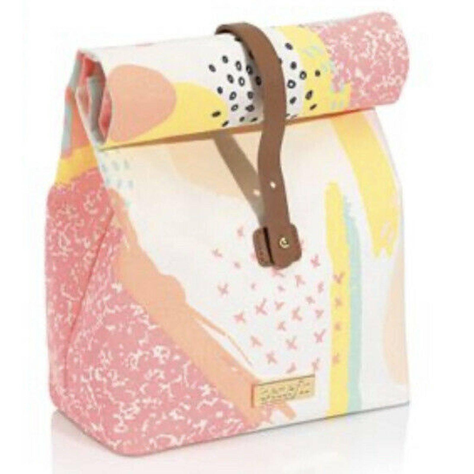 Benefit Cosmetics Fabric Lunch Bag NIP