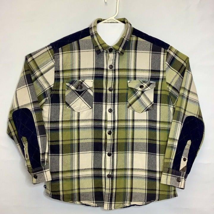 VTG Dakota Grizzly XL Work Shirt Jacket