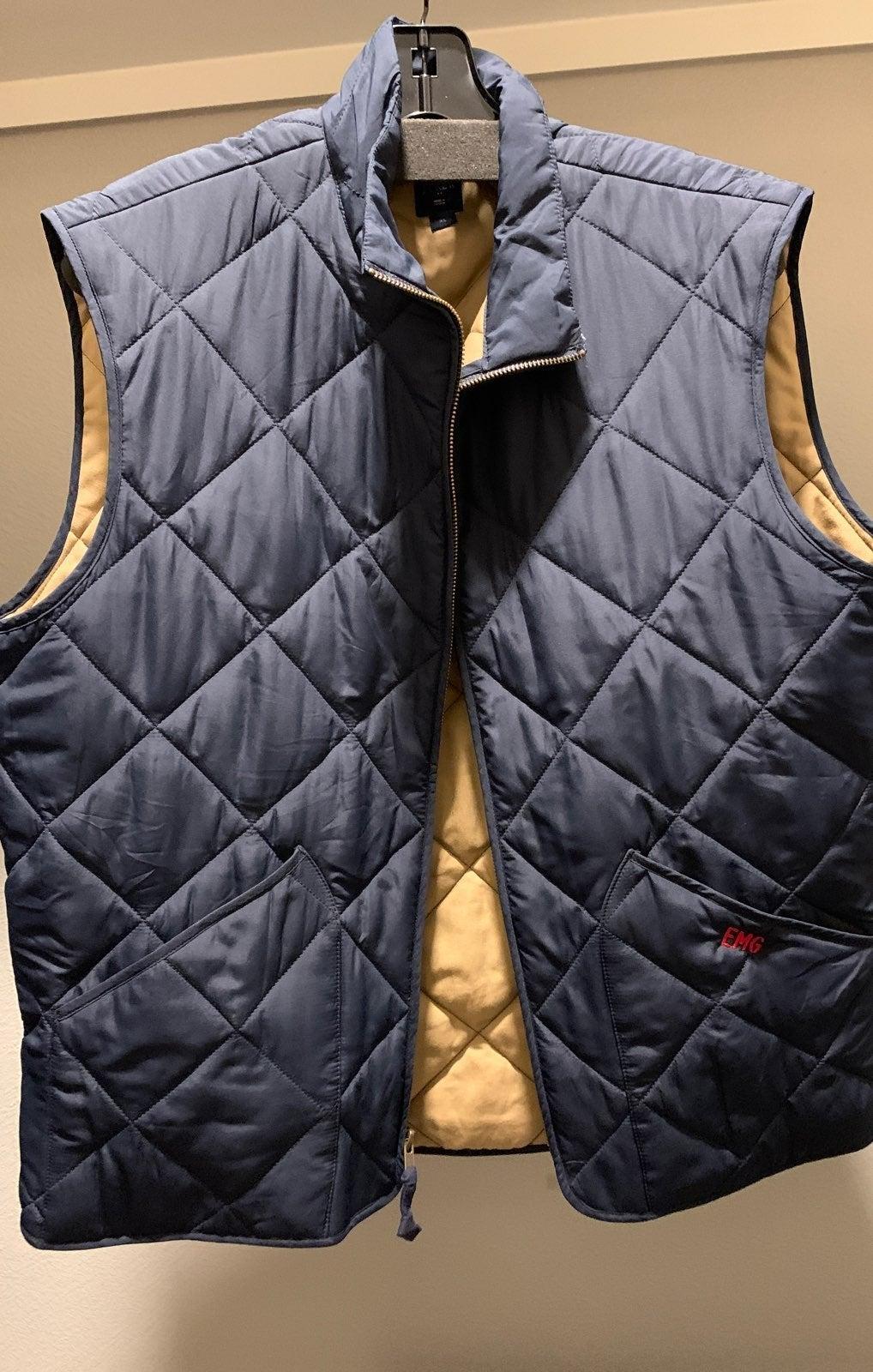 J. Crew Men's XL Vest