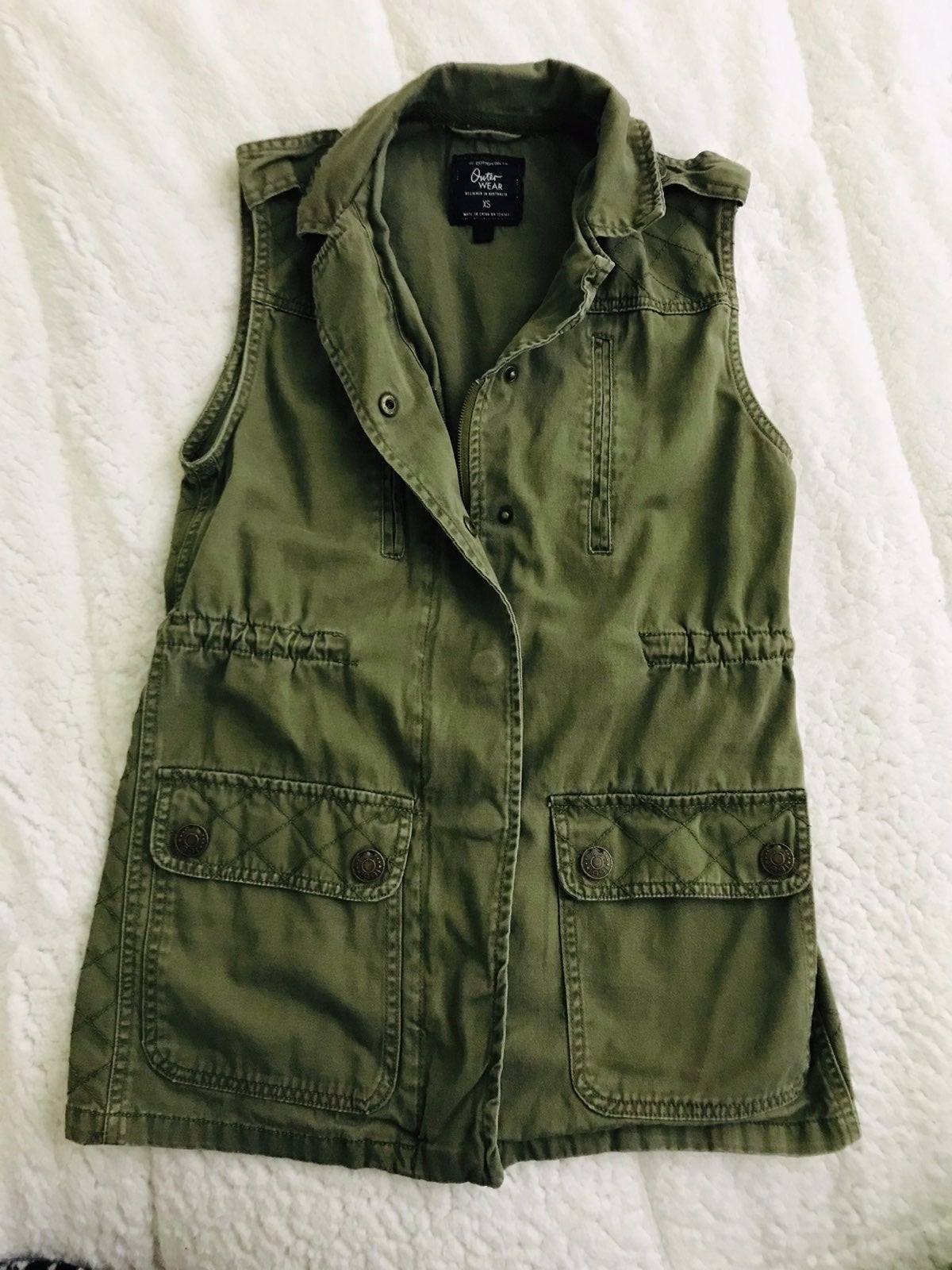 Outer Wear Vest By Cotton On