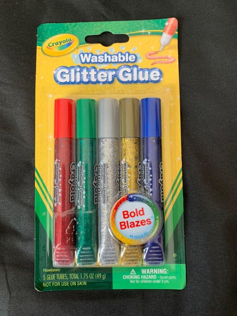 glitter tubes