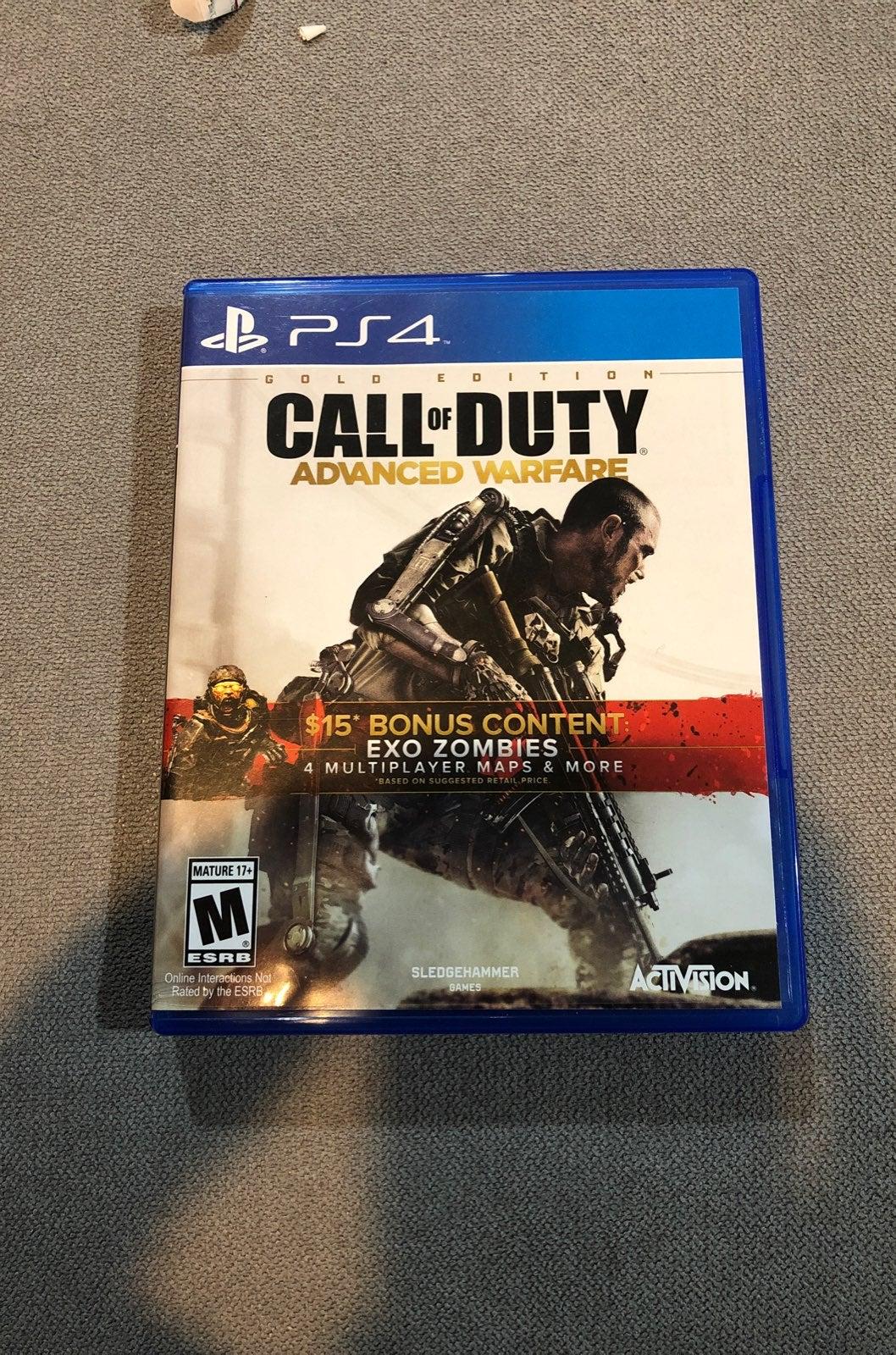 call of duty advanced warfare gold editi