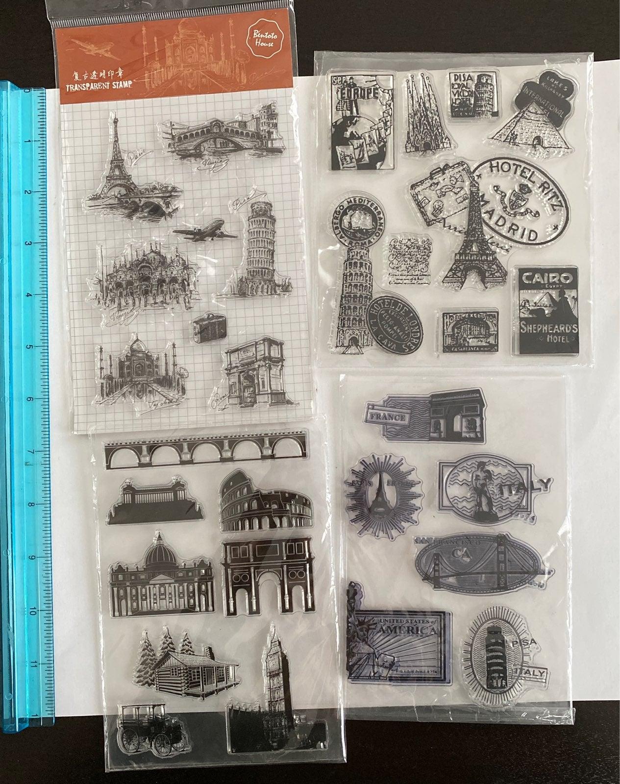 Travel Acrylic Stamp Sets !