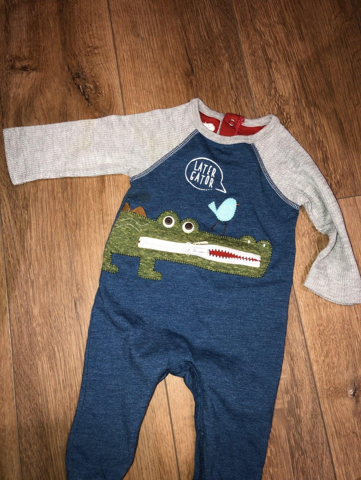 Mud Pie Baby long sleeve romper