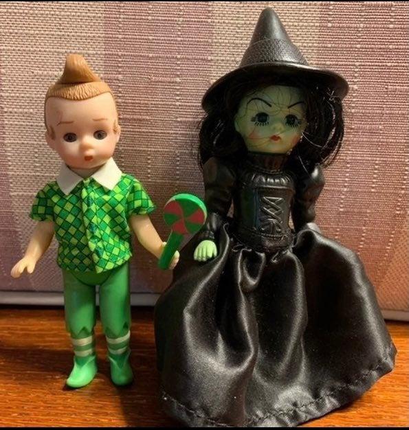 Alexander Wizard Oz Witch Munchkin Dolls