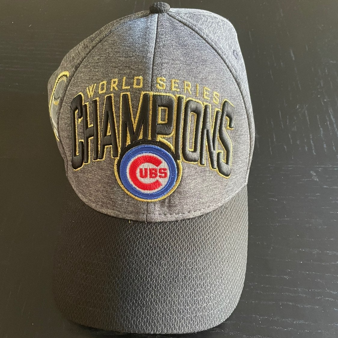 Chicago Cubs wolrd series hat
