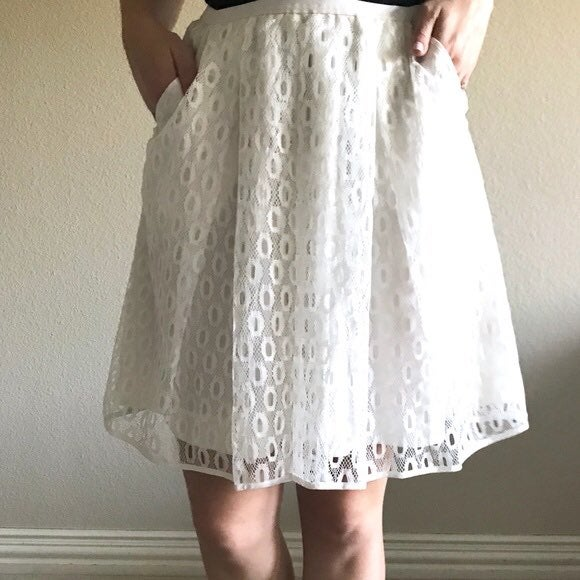 Maeve by Anthropologie Skirt Size 2 lace