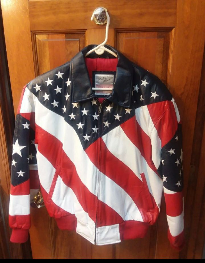 Patriotic, Michael Hoban Leather, Size M