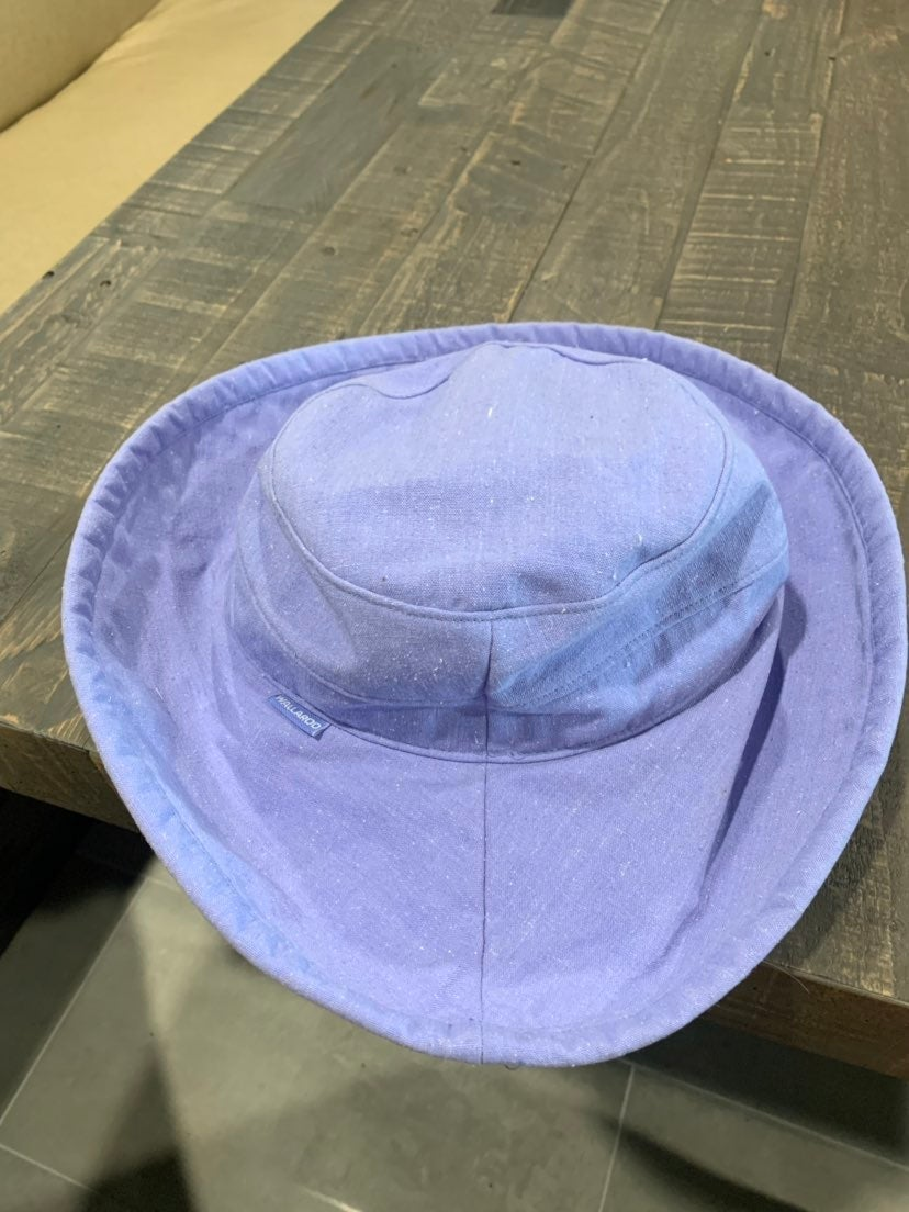Wallaroo Hat company purple hat