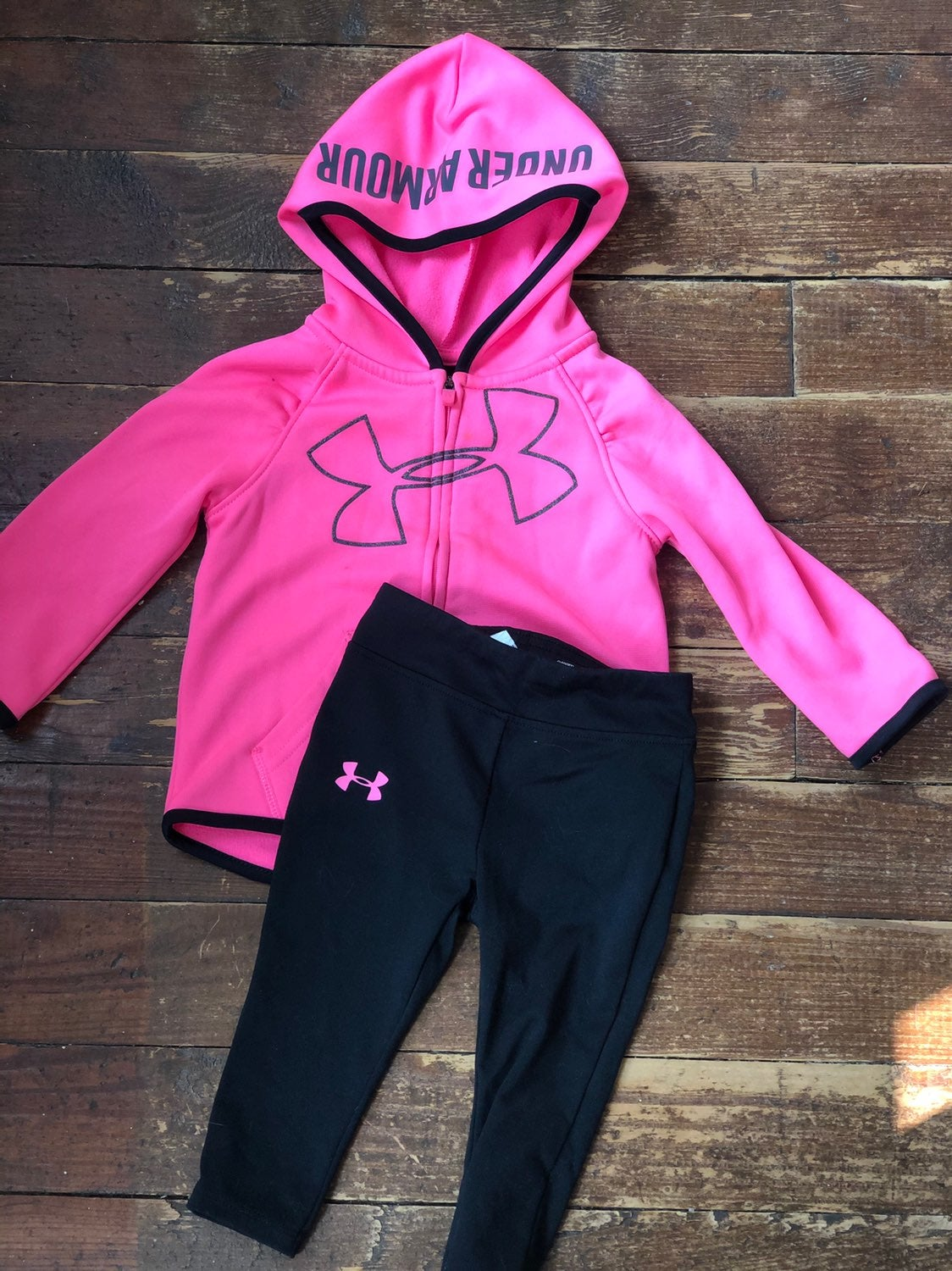 Under Armour baby girl outfit