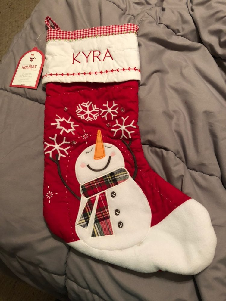 Kyra Quilted Stocking