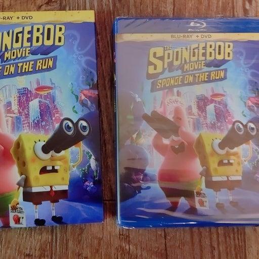 SPONGEBOB SPONGE ON THE RUN Blu-ray