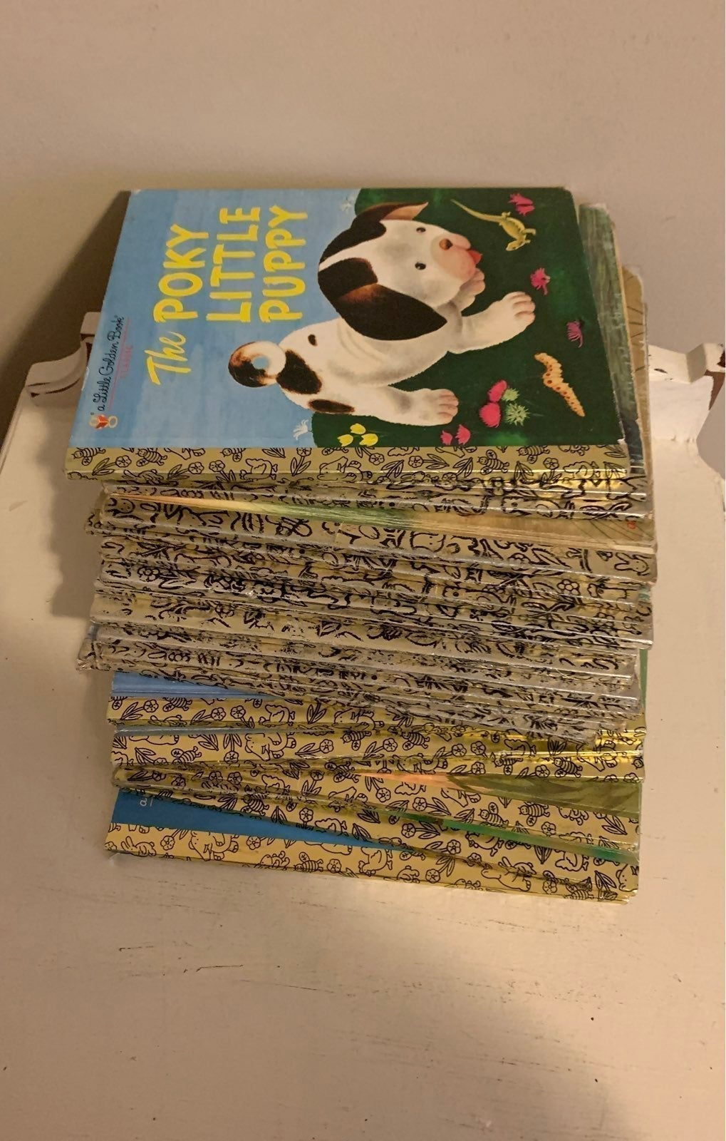 Lot of Vintage Golden Books: 20 included