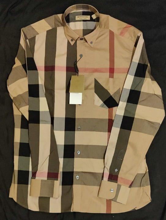 Burberry Thornaby Check Print Shirt L