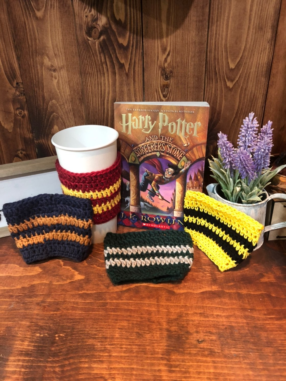 Harry Potter Coffee Cozie