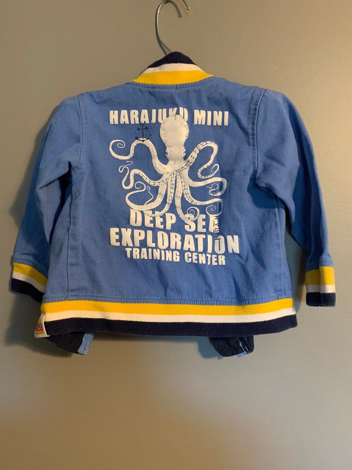 Harujuki Mini for Target Octopus Jacket