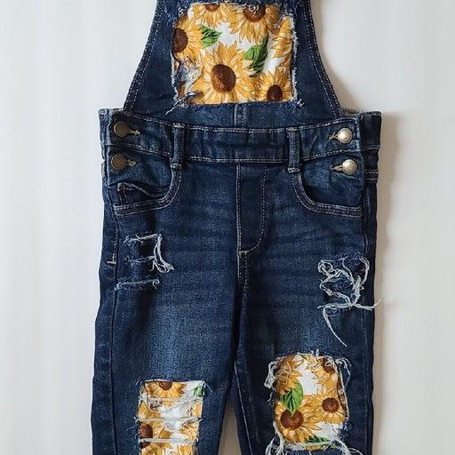 Custom Sunflower overalls