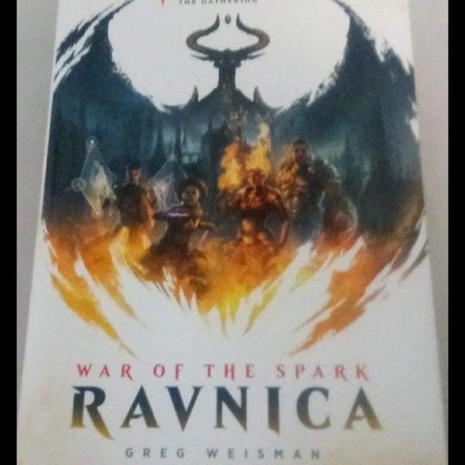 Mtg War of The spark ravnica book