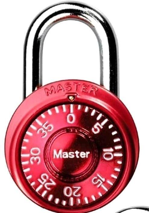 Brand New RED Master Lock 1500D