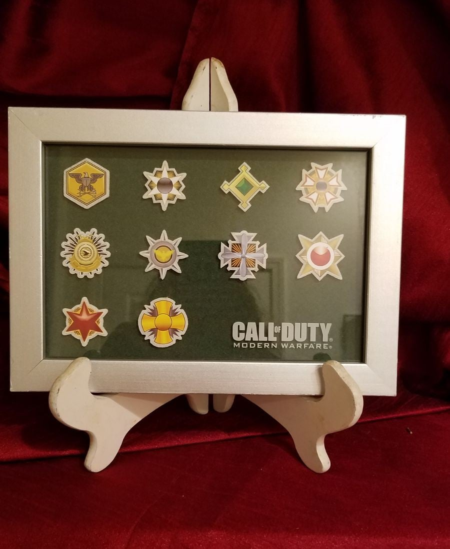 Call of Duty Medal frame