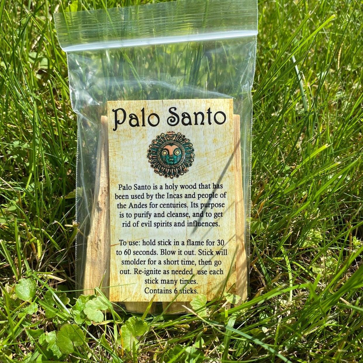PREMIUM Palo Santo Sticks - 5 Pack