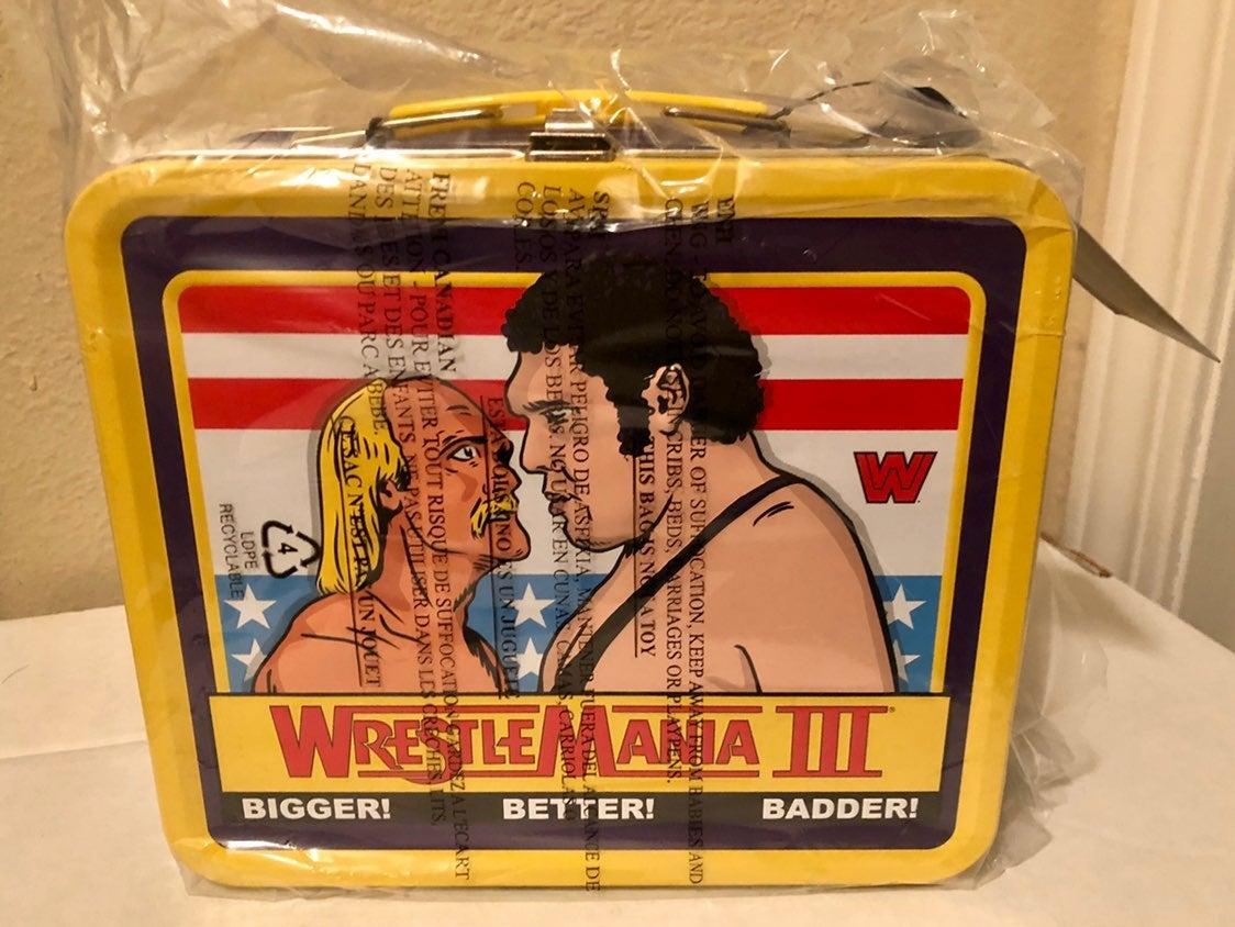 Wrestlemania Funko Lunchbox