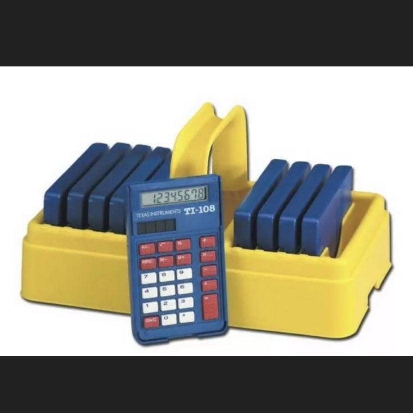 Teacher Calculators Class set Grades K-3
