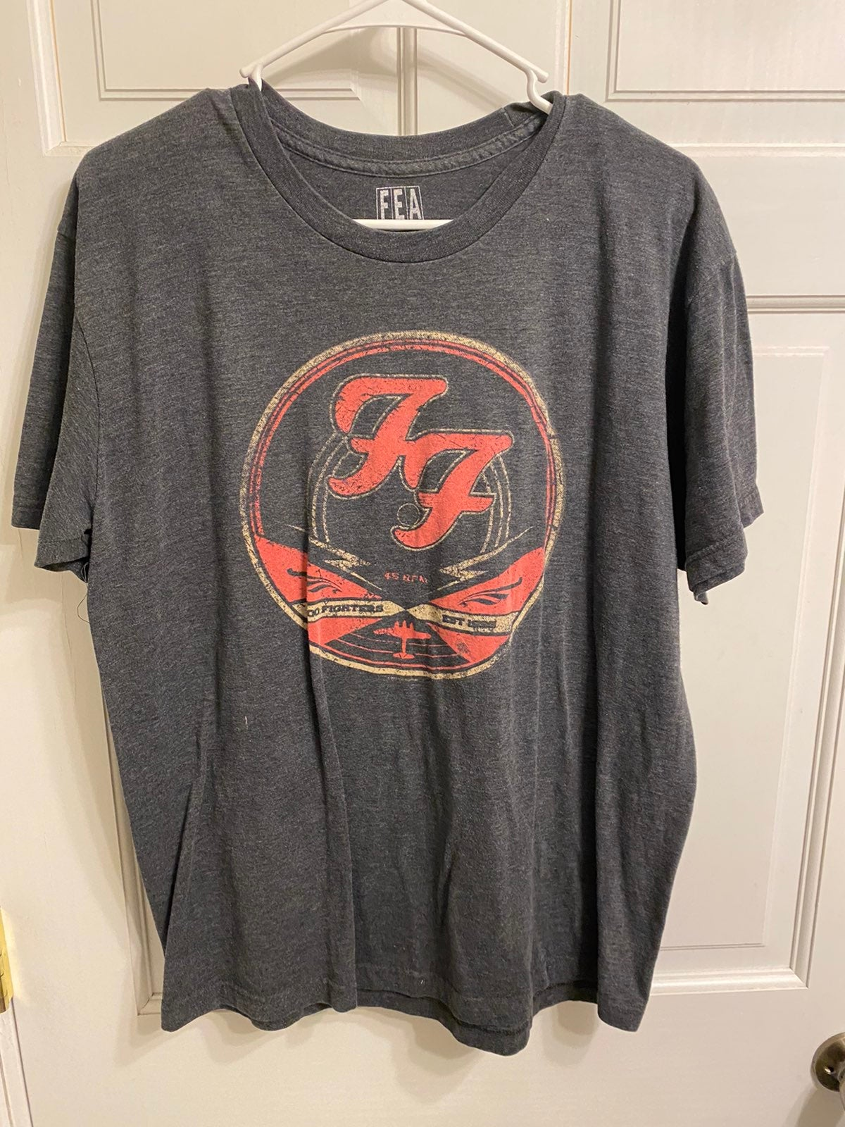 Foo Fighters Band Shirt size Large