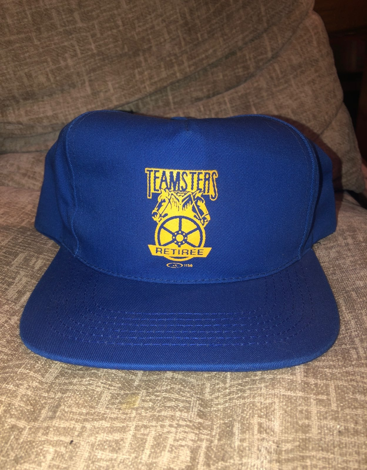 Graphic hat teamsters