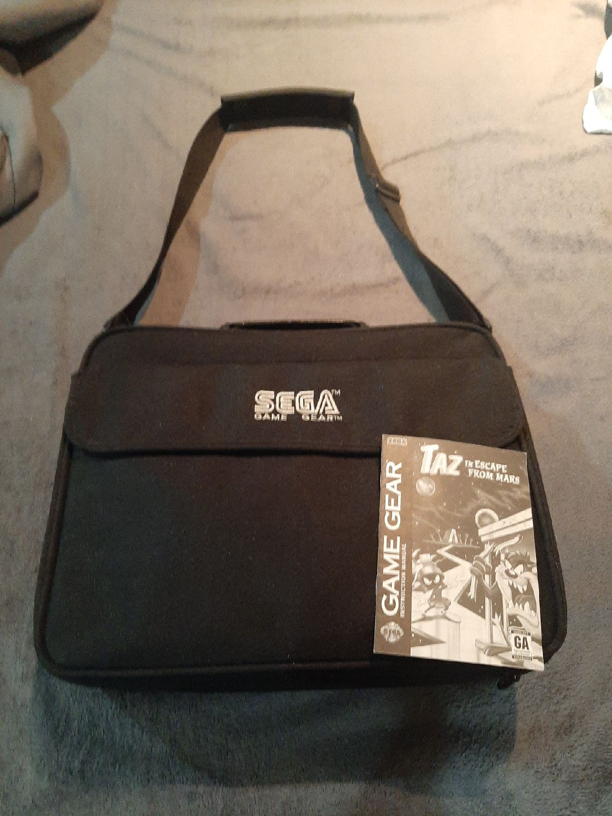 Sega gamd gear bag/organizer holder