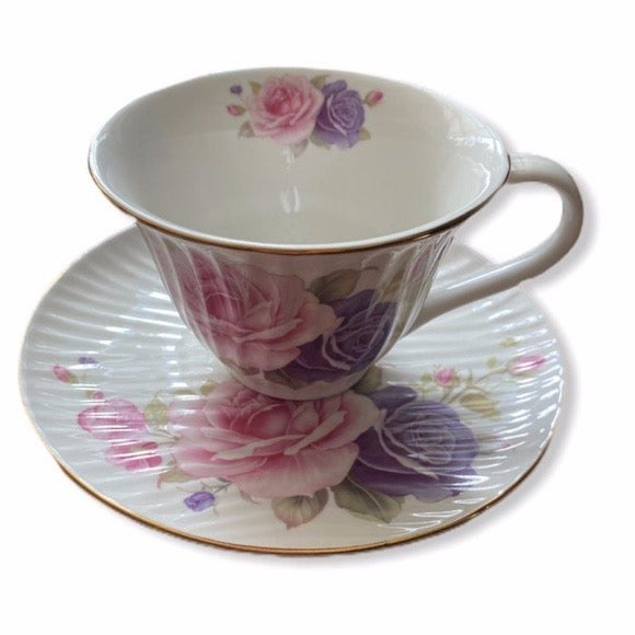 Grace's Teaware Cup and Saucer