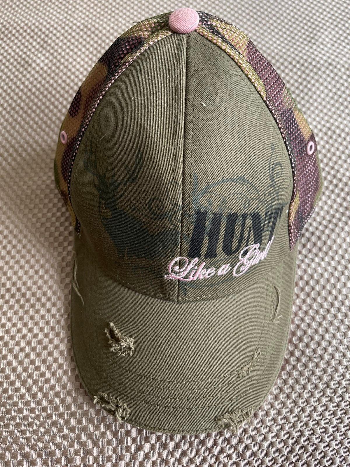 Buck Wear Hunt Like A Girl Distressed