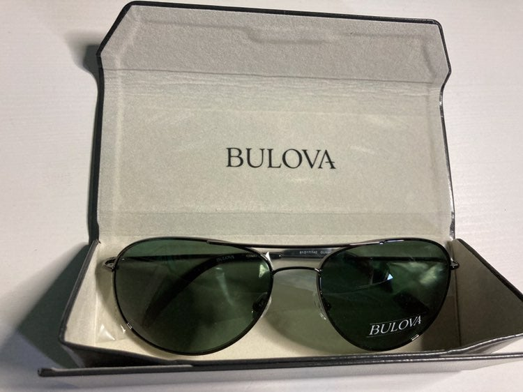 Bulova Sunwear Aviator Sunglasses with C