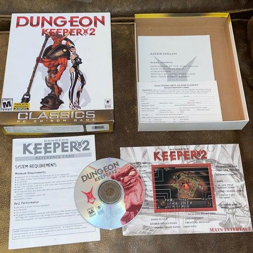 Dungeon Keeper 2 PC 1999 Big Box Game Co