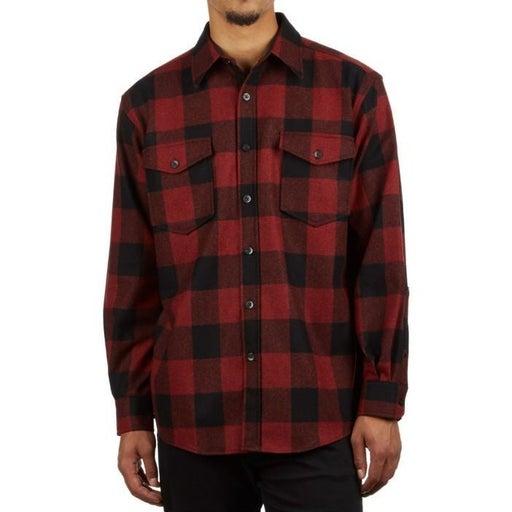 pendleton wool guide flannel shirt m