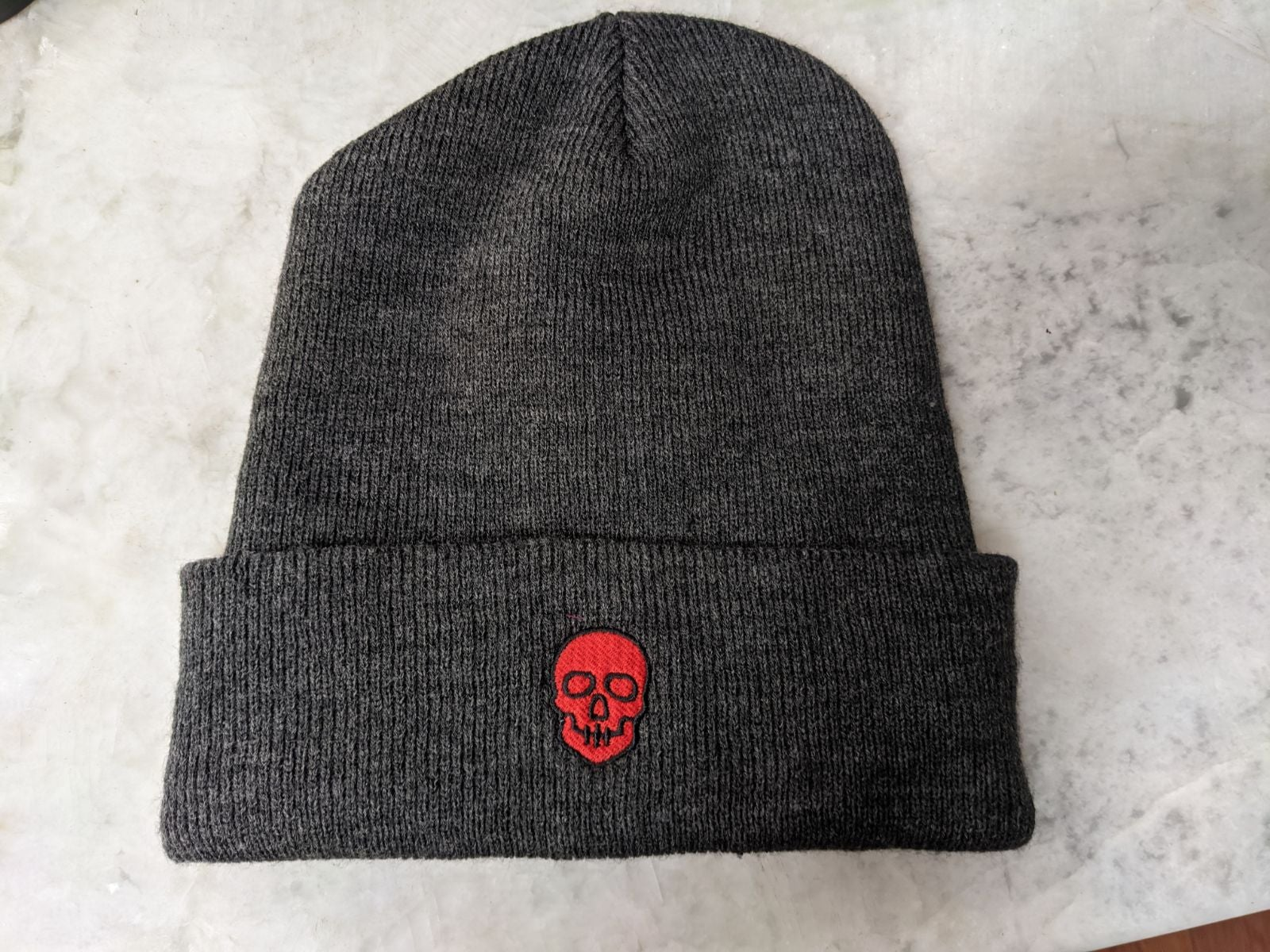 Carhartt Beanie with Red embroidered Sku