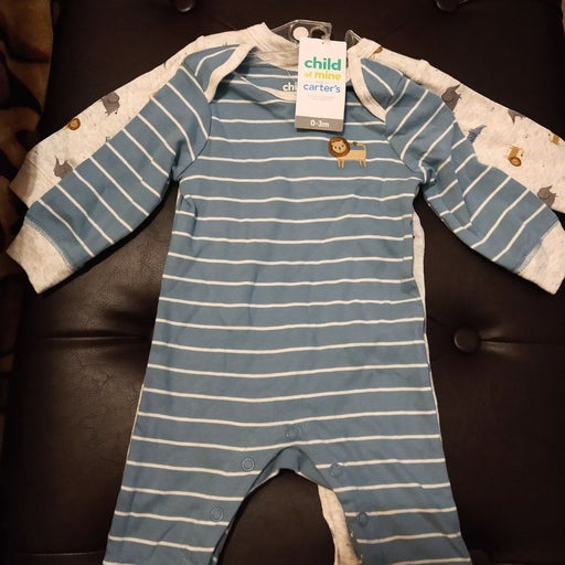 Carter's Baby Boy Footless Coveralls