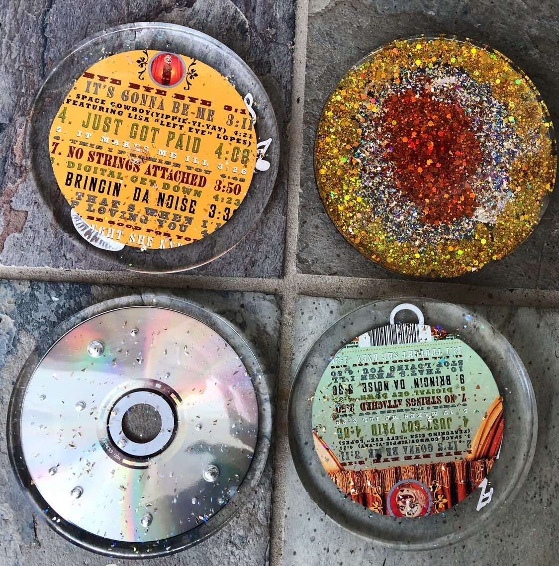 Nsync CD Coasters